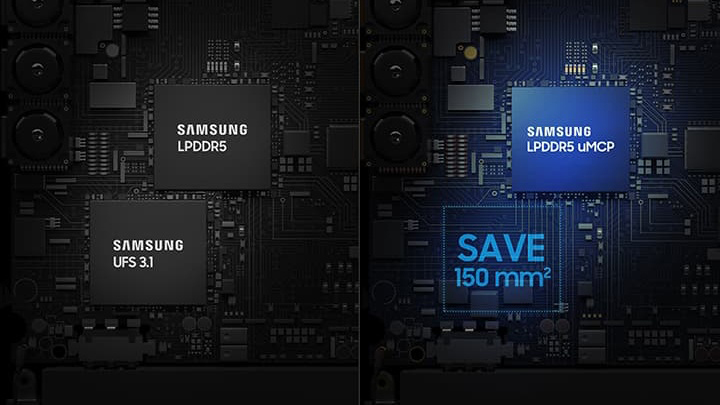 Samsung LPDDR5 uMCP封装技术发布