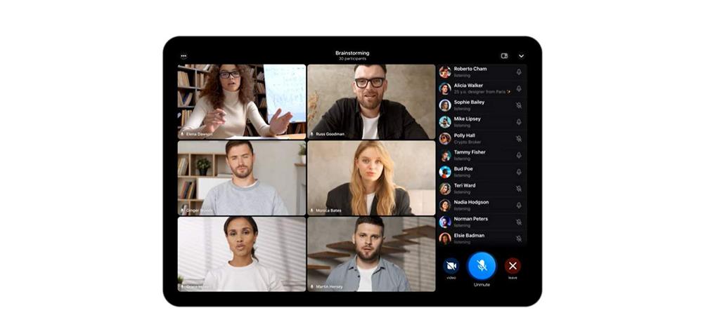 Telegram推出群组视频通话功能