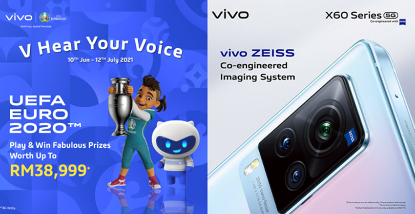 vivo V Hear Your Voice竞赛:赢取价值RM38,999奖品! 1