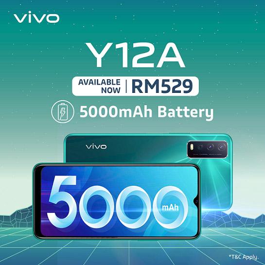 vivo Y12A发布