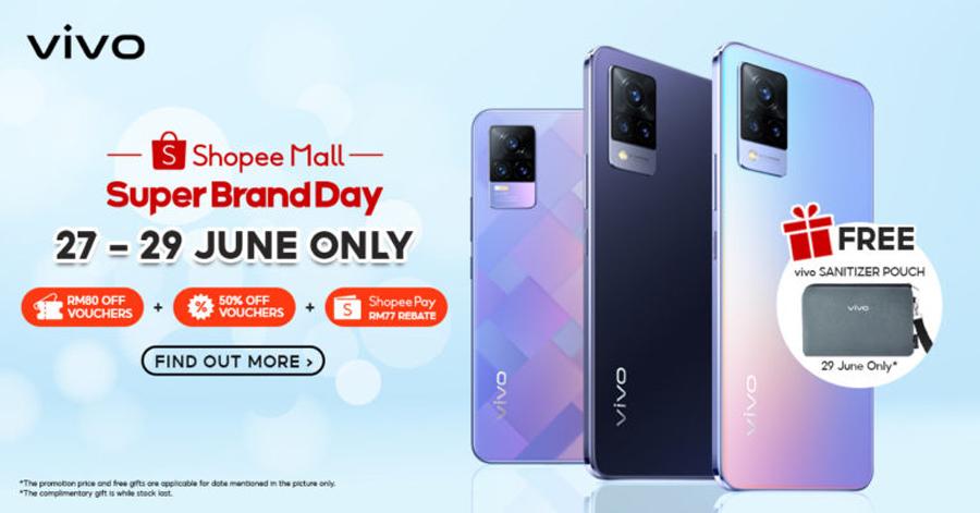 vivo x Shopee超级品牌日:手机优惠仅需RM77起! 1