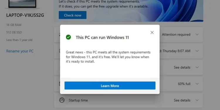 Windows 11可免费升级 但是电脑硬件配置需符合条件! 2