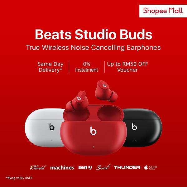 Beats Studio Buds降噪耳机发布,售价RM629