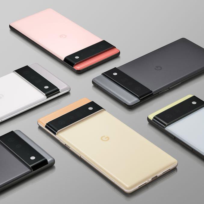 谷歌官宣Pixel 6系列