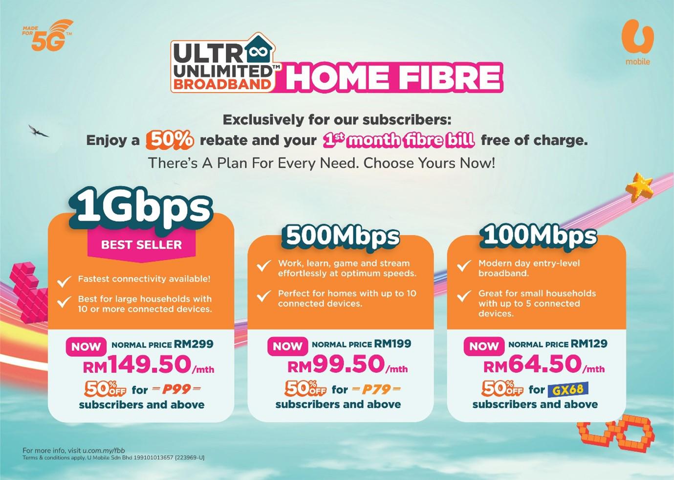 U Mobile X Allo 推出全马最便宜