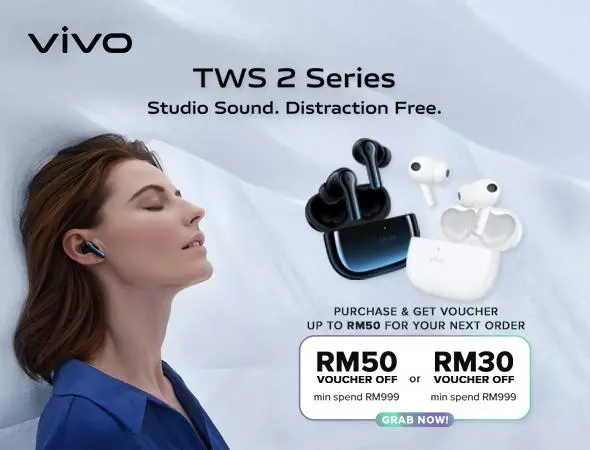 vivo TWS 2e、TWS 2 ANC发布,售价RM269起! 5