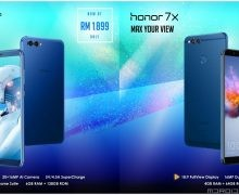 Honor View 10、Honor 7X售价调整:下调RM200!